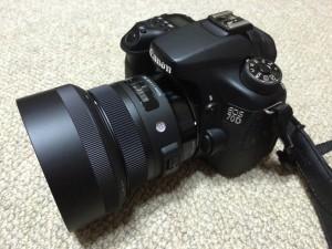 EOS70DSIGMA 30mm F1.4 DC HSM Artライン