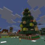 Minecraft クリスマスツリー