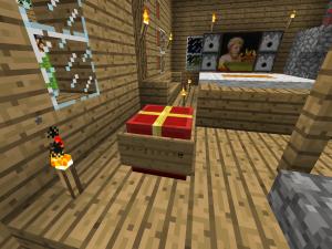 Minecraft クリスマスチェスト