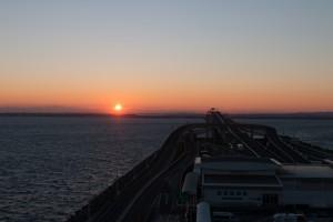 海ほたる 初日の出
