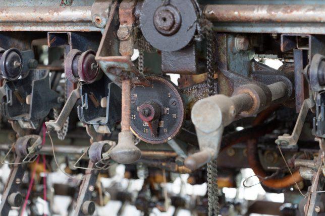富岡製糸工場 機械