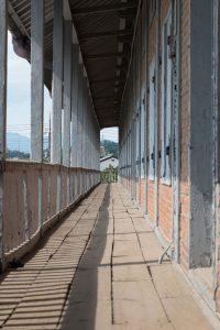 富岡製糸工場 東置繭所 二階