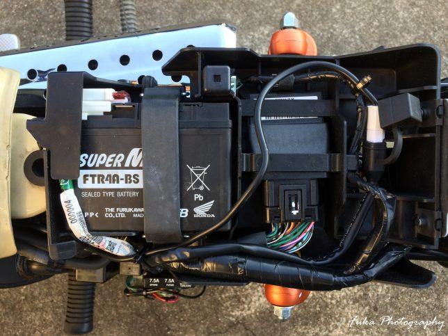 モンキーFI USB電源のカプラー