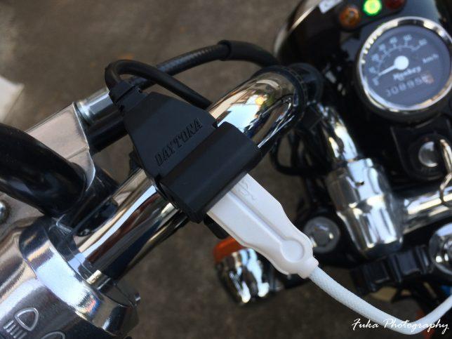 モンキーFI USB電源 テスト
