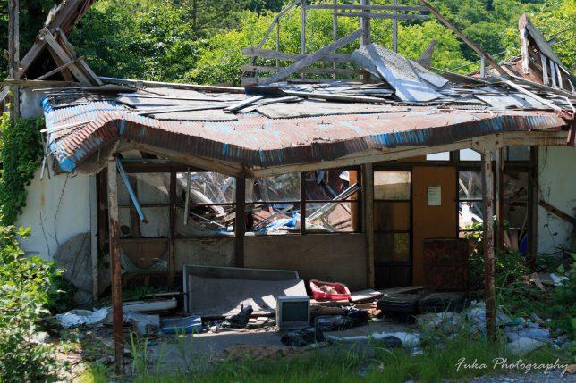 土合駅 外の廃墟