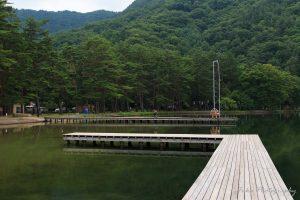 木崎湖キャンプ場 みずほ桟橋