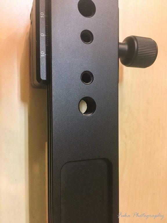 [MENGS] レンズサポート L200 レール U1/4インチネジ穴