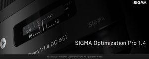 SIGMA Optimization Pro 起動画面