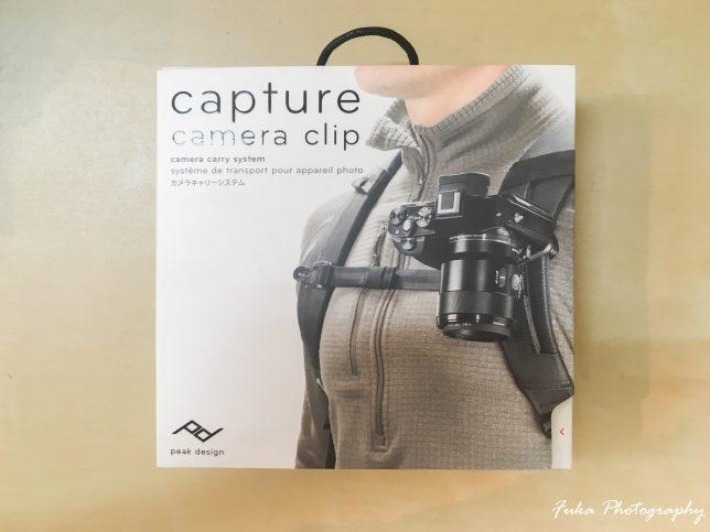 PeakDesign Capture V3 CP-BK-3 パッケージ