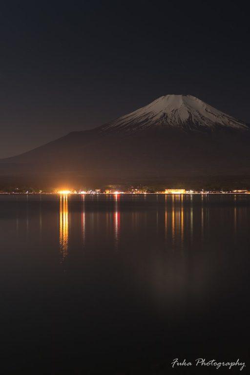 山中湖 富士山