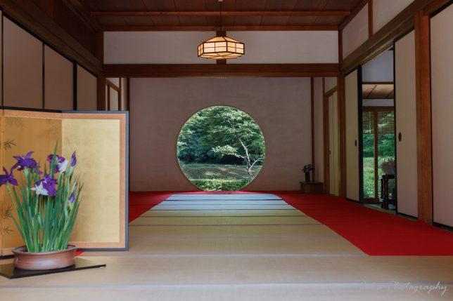 明月院 円窓