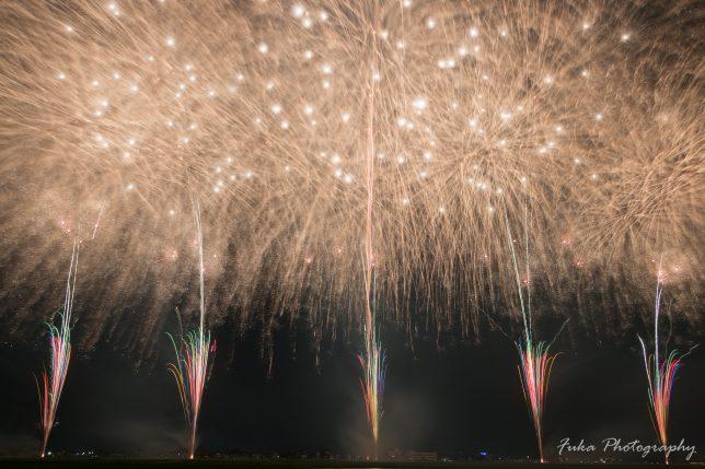 田園夢花火2018 第30回たまむら花火大会