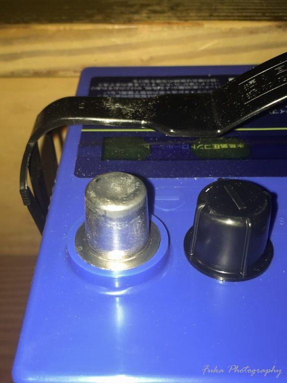 Panasonic 「Blue Battery カオス C6 N-100D23L/C6」マイナス端子
