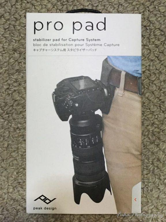 PeakDesign 「PRO PAD」 PP-2 パッケージ前面