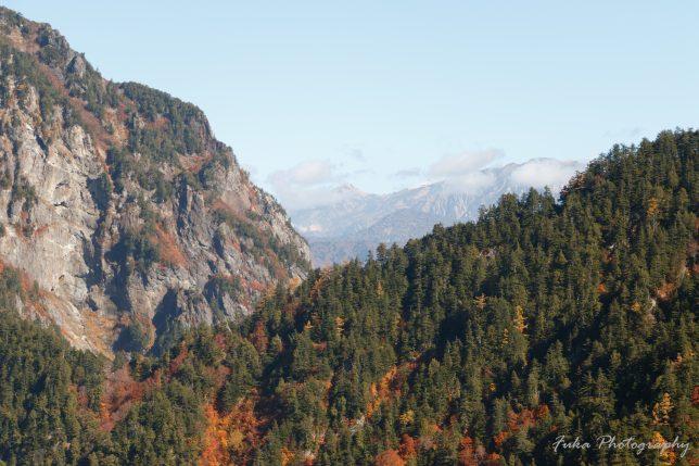 黒部ダム展望台からの景色