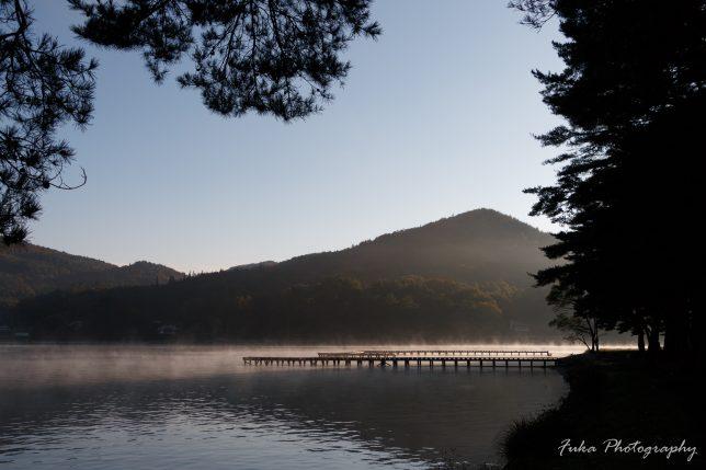 木崎湖キャンプ場 みずほ桟橋 いちご桟橋