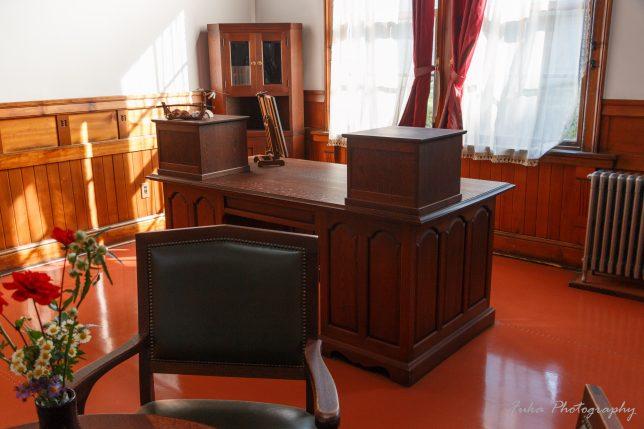 旧松本高等学校 校長室