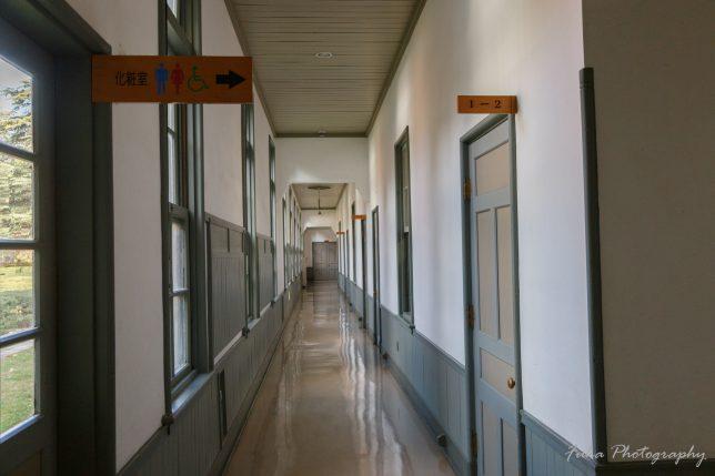 旧松本高等学校 廊下