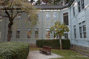 旧松本高等学校 中庭