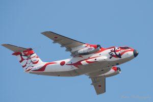 入間航空祭 2018 60周年記念塗装C-1