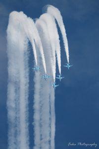 入間航空祭 2018 ブルーインパルス