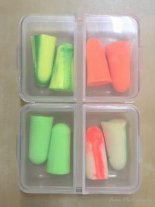 Moldex 8種類使い捨て耳栓お試しSet 日本製Qケース付 Qケース