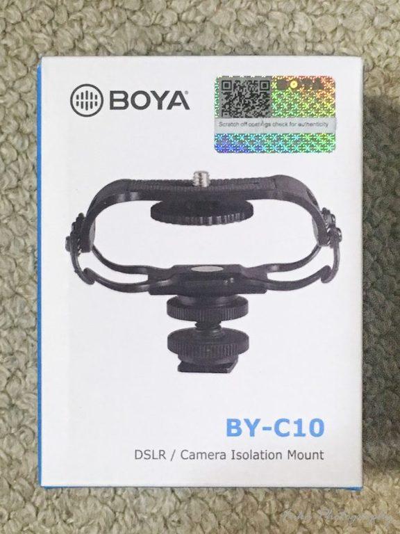 BOYA 「ショックマウント BY-C10」 パッケージ