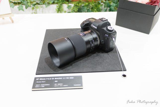 cp+ 2019 TAMRON SP 90mm F/2.8 Di MACRO 1:1 VC USD
