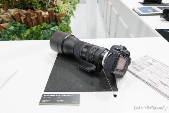 cp+ 2019 TAMRON SP 150-600mm F/5-6.3 Di VC USD G2