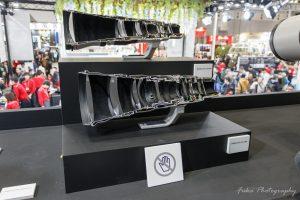 cp+ 2019 CANON EF600mm F4L IS II USM と EF600mm F4L IS III USM のカットモデル