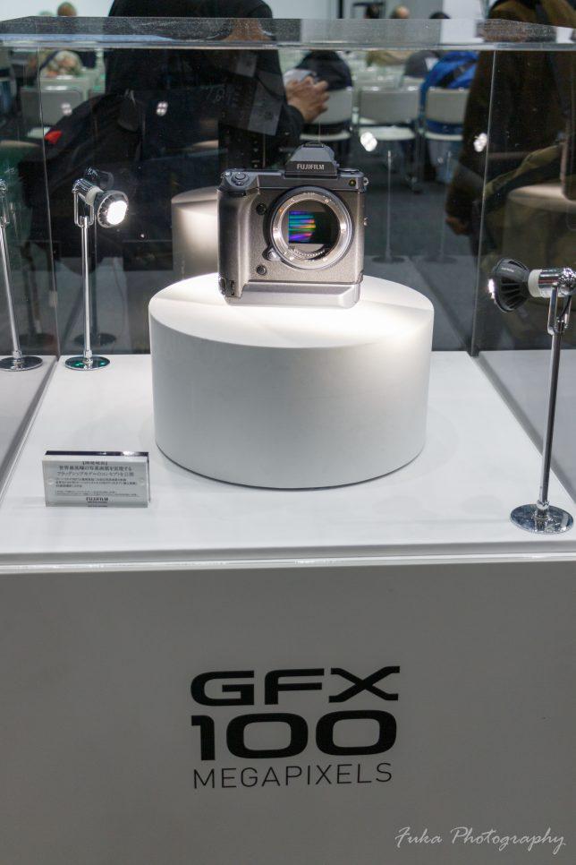 cp+ 2019 FUJIFILM GFX100
