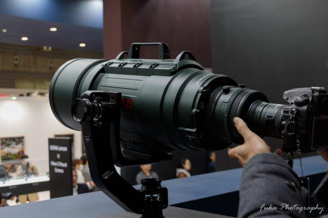 cp+ 2019 SIGMA APO 200-500mm F2.8 / 400-1000mm F5.6 EX DG