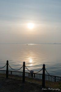 浜大津なぎさ公園 琵琶湖
