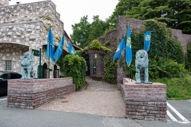 ロックハート城 入り口