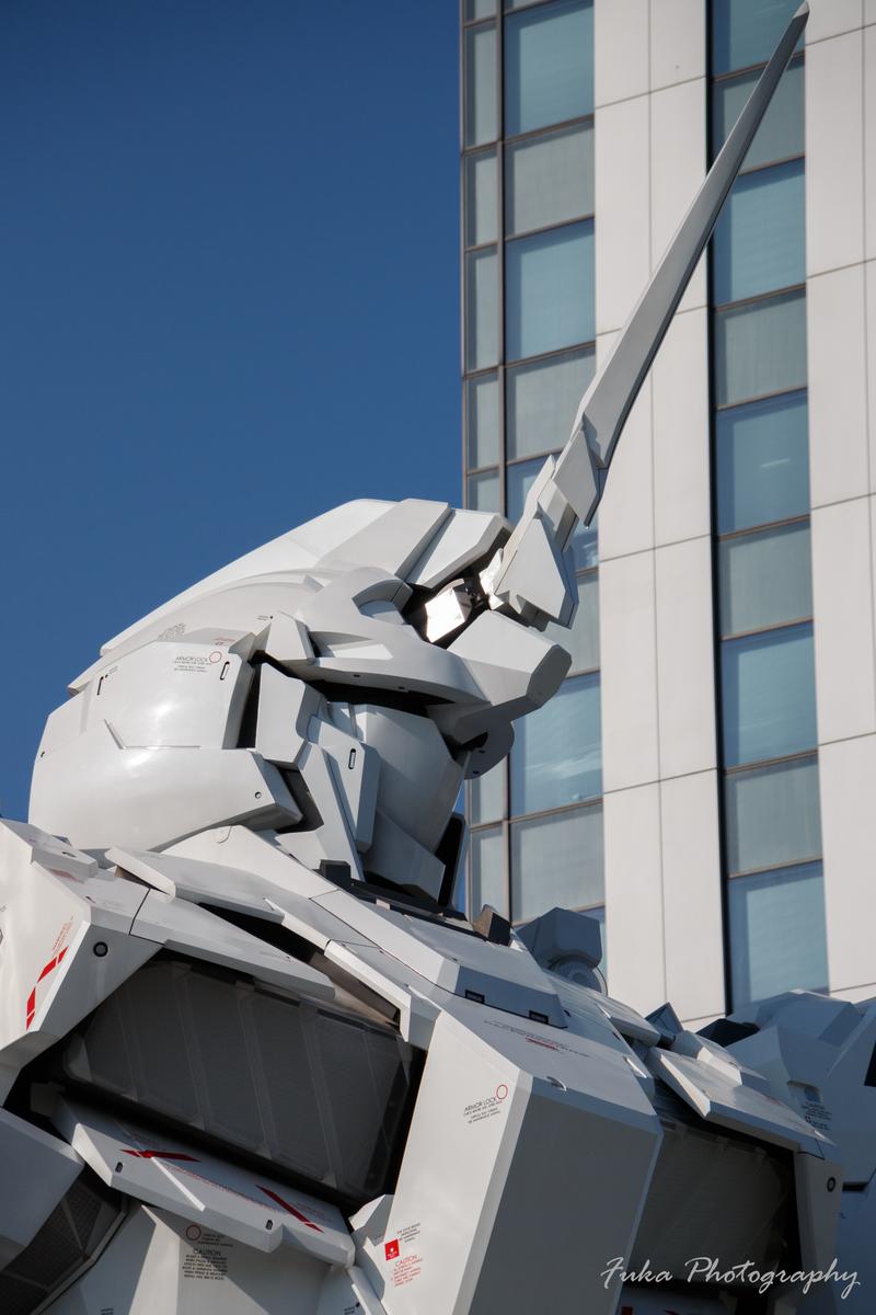 お台場 ダイバーシティ東京 プラザ 実物大ユニコーンガンダム立像