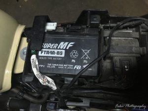 モンキーFI バッテリー交換