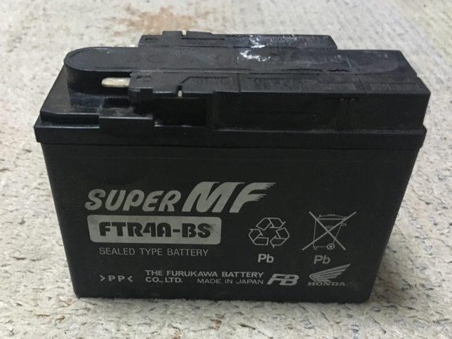 モンキーFI 純正バッテリー