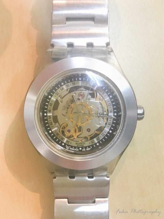 swatch irony diaphane automatic AG 2001
